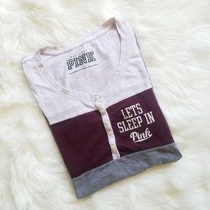 PINK Victoria's Secret sleeping shirt